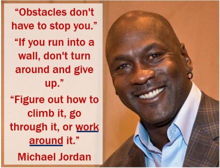 Michael Jordan - work around quote