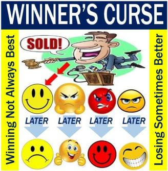 What is the 'winner's curse'? - Definition and examples