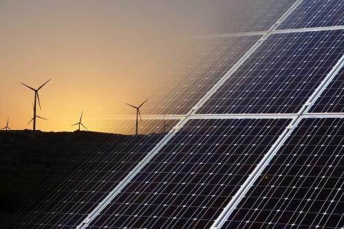 microgrid - wind solar energy