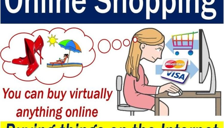 Online Shopping – image with explanation and example