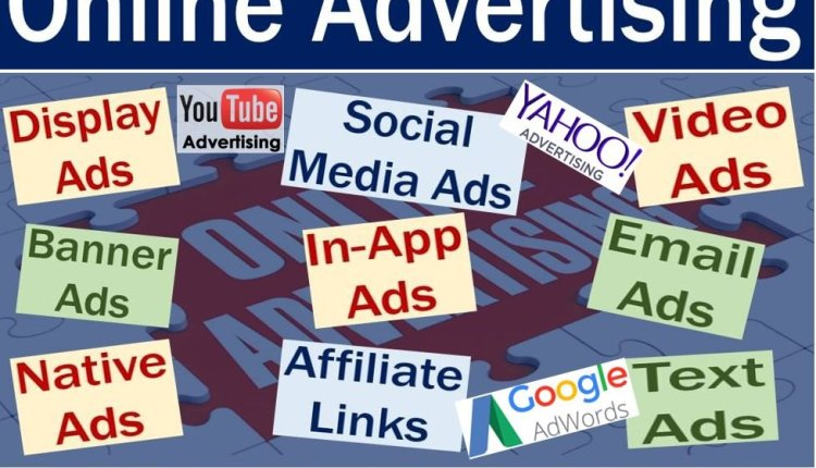 Online advertising - definition and some examples