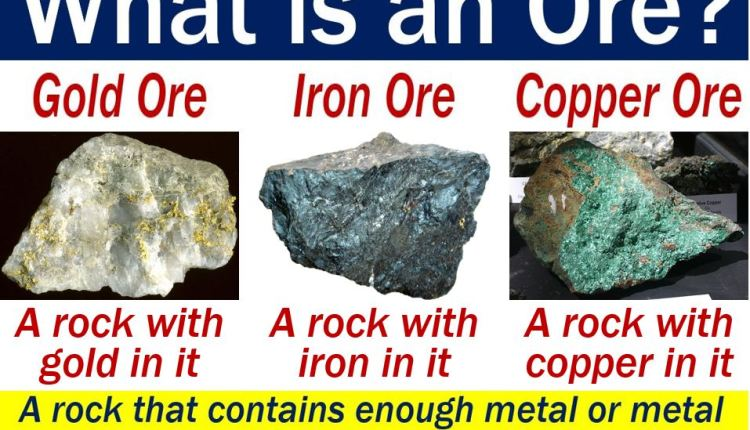 Ore - definition and some examples
