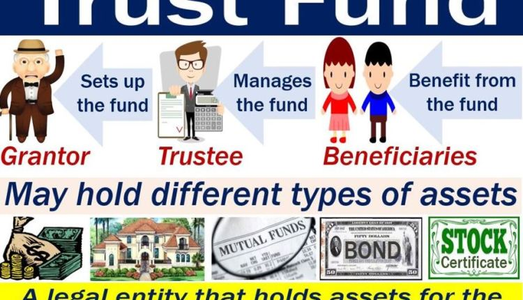 Trust fund – image with definition and examples