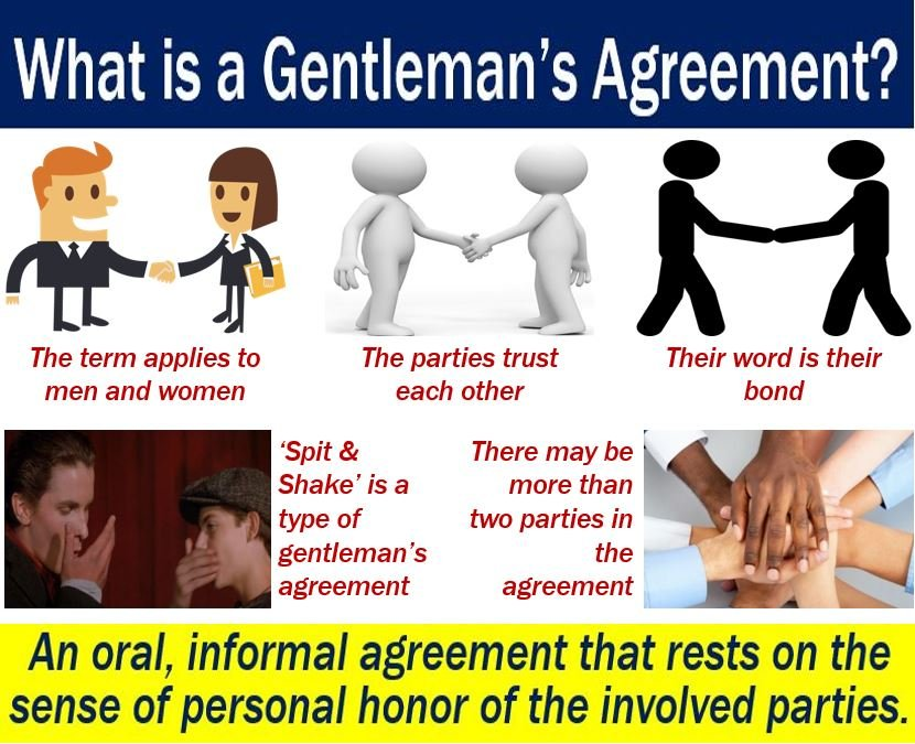 Gentlemans Agreement Definition And Meaning Market Business News