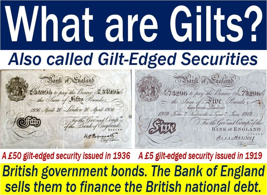 Index Linked Gilts >> Gilts - definition and meaning - Market Business News