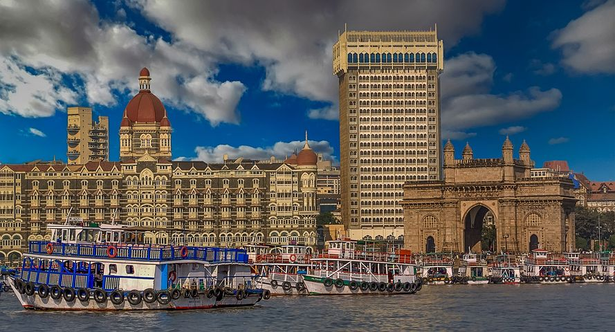 Indian economy - mumbai gateway to India - pixabay-1370023
