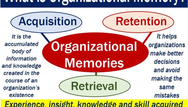 Organizational Memory – image with explanation