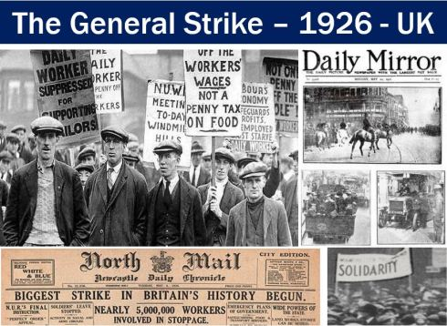 The General Strike - UK - 1926