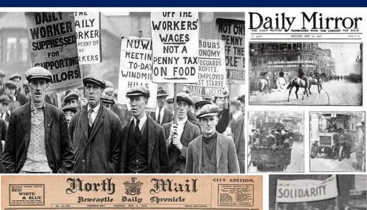 The General Strike – UK – 1926