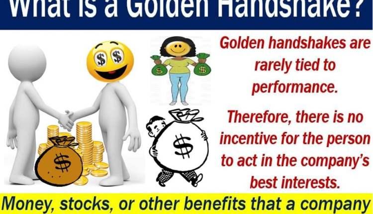 Golden Handshake - definition and illustration