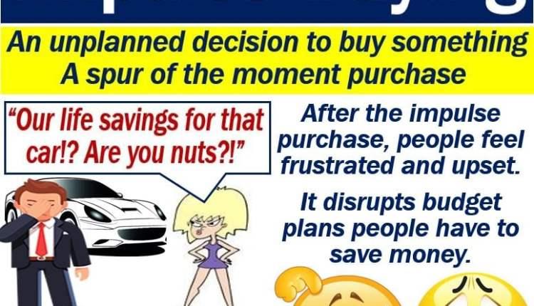 Impulse buying