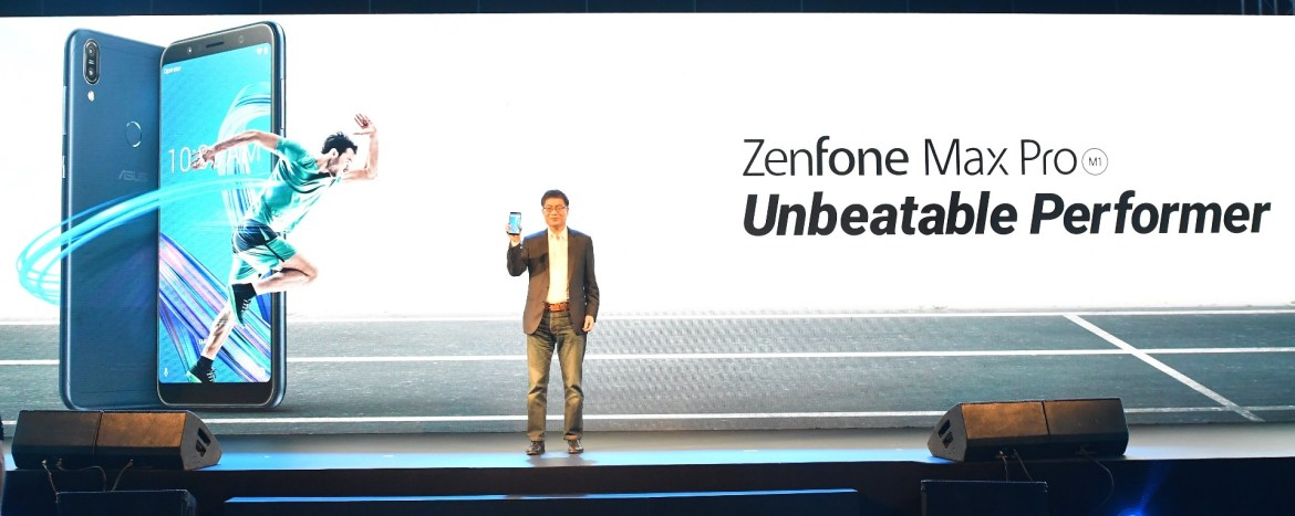 ASUS CEO Jerry Shen reveals the all new ZenFone Max Pro_the game changing unbeatable