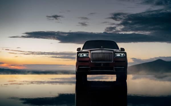 Rolls Royce's new SUV Cullinan