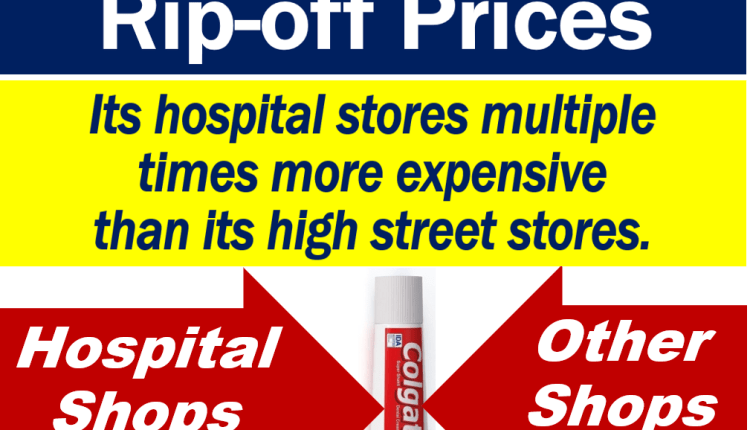 WH Smith rip off prices