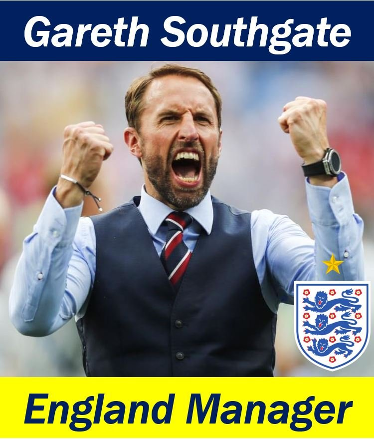 Gareth Southgage - World Cup 2018