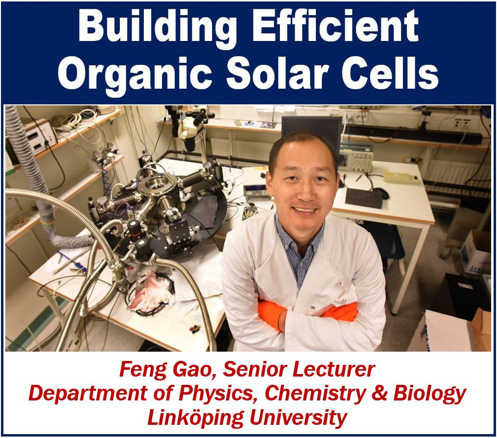 Prof Feng Gao - Building efficient organic solar cells