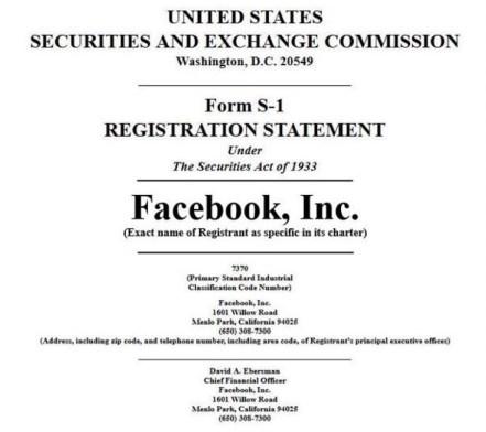 Facebook ipo final prospectus