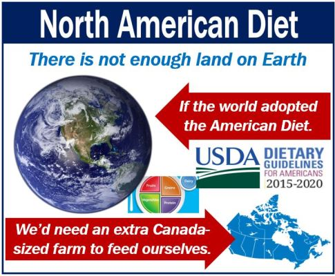 North American Diet and land use