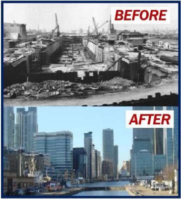 Economic Blight London Docklands Transformation