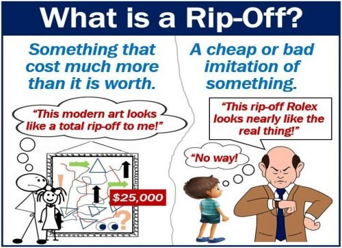 Rip-Off definition and examples