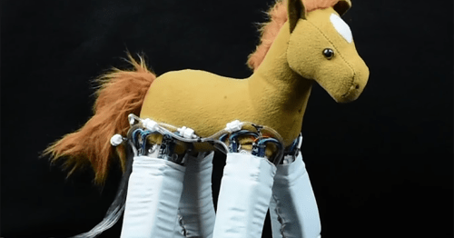 Robotic Skins tech turns cuddly toy into robot