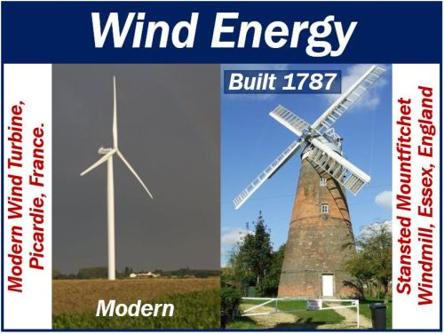 Wind Energy new and old