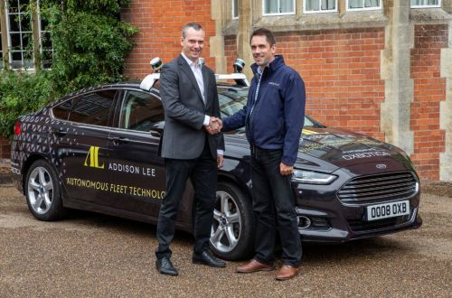 Addison Lee and Oxbotica CEOs