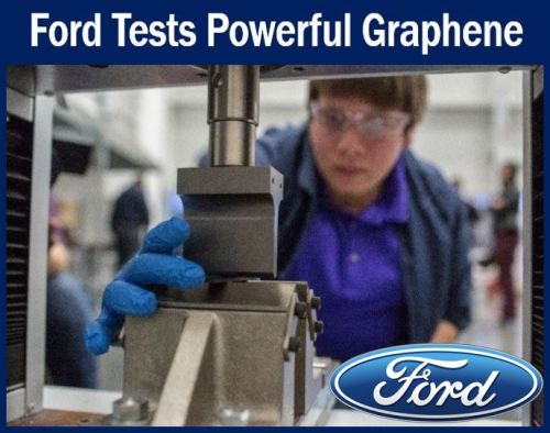 Ford testing powerful graphene
