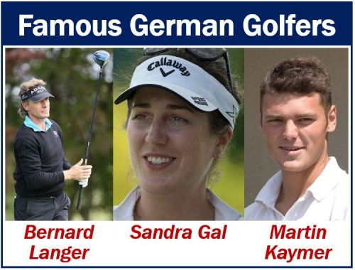 Famous German golfers - most popular sports in Germany
