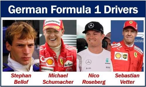 German Formula 1 Drivers