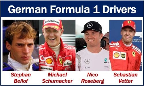 German Formula 1 Drivers
