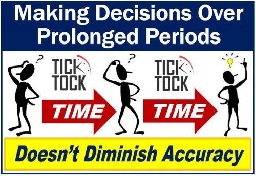 Making decisions over prolonged periods