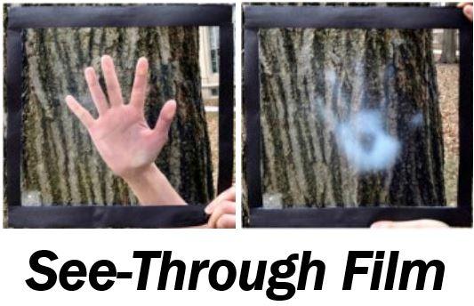 See-through film thumbnail