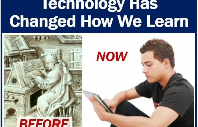 Technology has changed education and learning