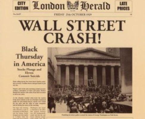 Wall Street Crash London Herald
