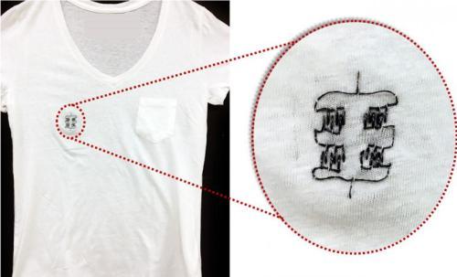 Wearable Electronics - T-shirt image