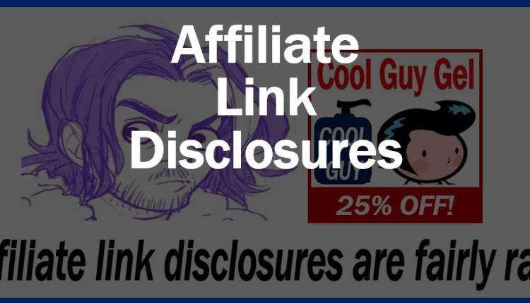 Affiliate link disclosures – thumbnail