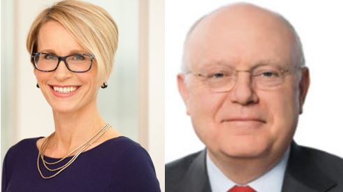 GSK and Pfizer bosses – consumer healthcare joint venture image