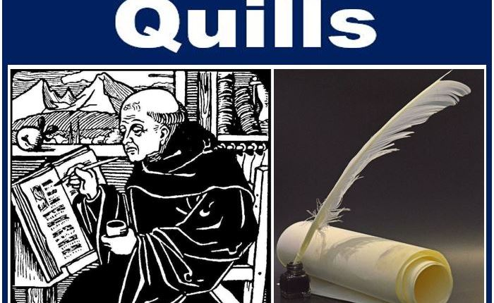 How people write – history – quills