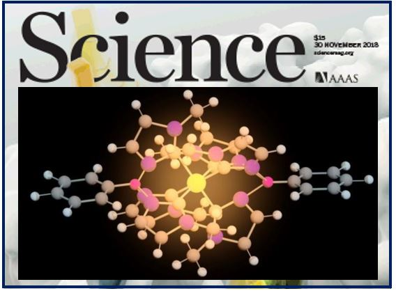 Iron-based molecule article in Science Mag thumbnail