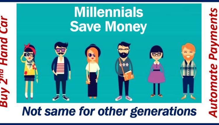 Millennials save money – thumbnail
