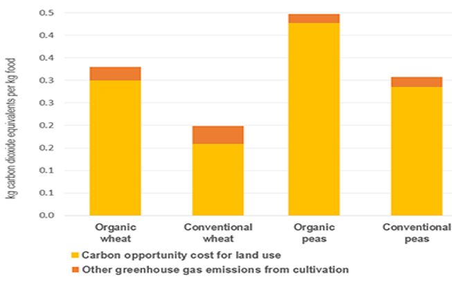 Organically farmed food climate impact – thumbnail