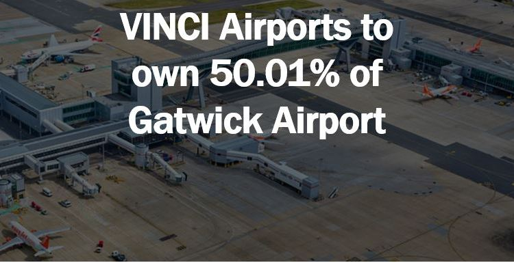 VINCI Airports buys controlling stake in Gatwick Airport – thumbnail