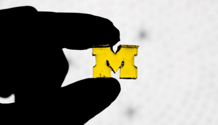 Faster 3D printing – letter M