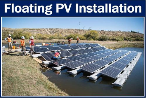 Floating PV installation Colorado