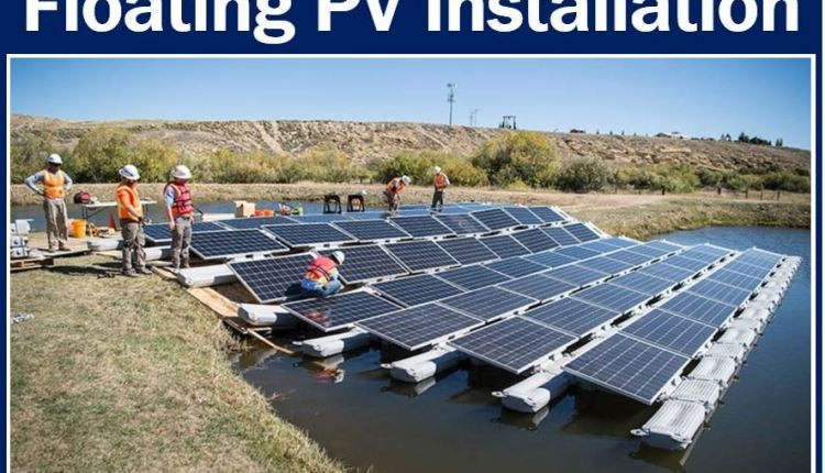 Floating PV installation Colorado