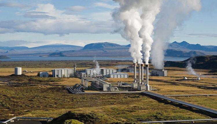Geothermal facility in Iceland