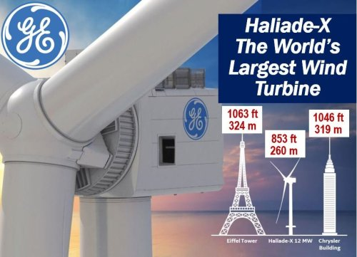 Haliade-X - a huge turbine