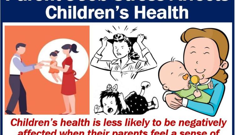 Work life and health of children image