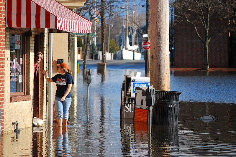 Flooding in Annapolis